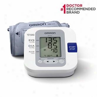 Omron 5 Series Upper Arm Blood Pressure Monitor, Model Bp742