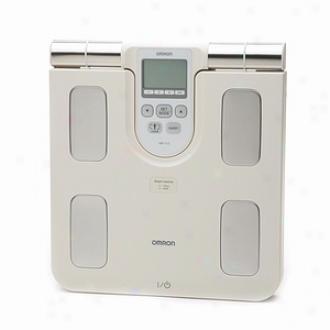 Omron Full Body Sensor Body Constitution Monitor And Scale - Model Hbf-510