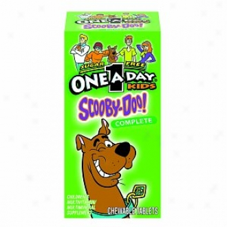 One-a-day Kids Scooby-doo! Complete Multivitamin, Chewable Tablets