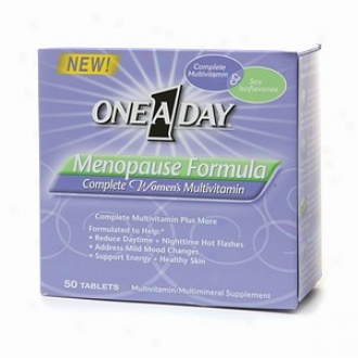 One-a-day Menopause Formula, Complete Women's Multivitamin Tablets