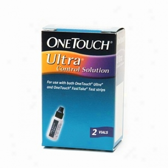 Onetuoch Ultra Control Solution, Vials