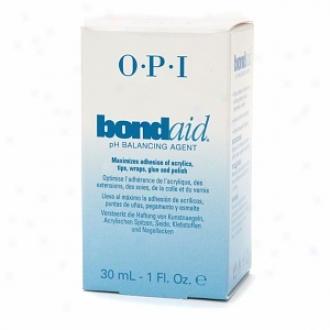 Opi Bondaid Ph Balancing Agent, Bondaid Ph Balancing Agent With Brush Head-cover