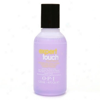 Opi Expert Touch Lacquer Remover, Expert Touch Lacquer Removed