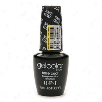 Opi Gelcolor Collection Soak-off Gel Lacquer, Base Coat