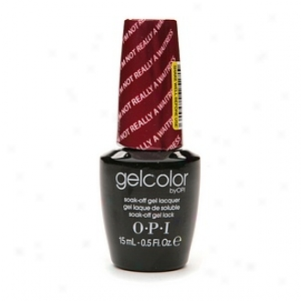 Opi Gelcolor Collection Sak-off Gel Lacquer, I'm Really Not A Waitress