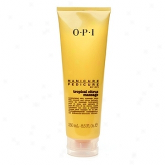 Opi Manicure Pedicure Moisturizing Skin Massage Lotion, Tropical Citrus