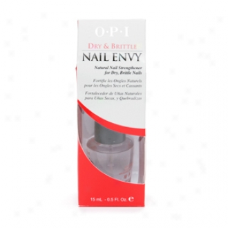 Opi Nail Envyy Natural Nail Strengthener, Dry & Fragile