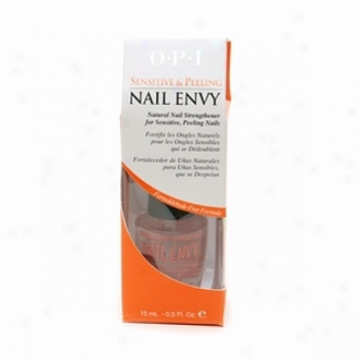 Opi Nail Envy Natural Naip Strengthener,sensitive & Peeling