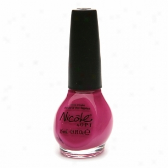 Opi Nicole By Opi Kardashian Kolor Nail Lacquer, All Kendall-ed Up
