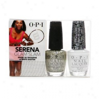 Opl Serena Glam Slam Collection Duo, Spark De Triomphe & White Shatter