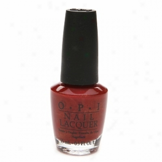 Opi Touring Ameerica Collection Nail Lacqued, Color To Diner For