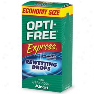 Opti-free Message Rewetting Drops, Economy Size