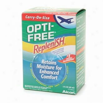 Opti-free Replenish Multi-purpose Disinfecting Solution, Carry-on Size