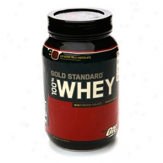 Optimum Food Gold Standard 100% Whey, Extreme Milk Chocolate