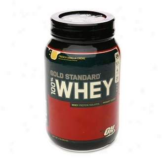 Optimum Nutrition Gold Standard 100% Whey, French Vanilla Cr??me