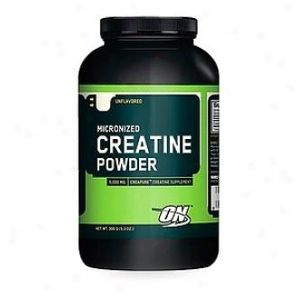 Optimum Nutrition Micronizd Creatine 5,000 Mg Powder, Unflavored