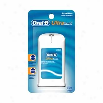 Oral-b Ultra Floss, Dental Floss Pre-measured Strands, Original