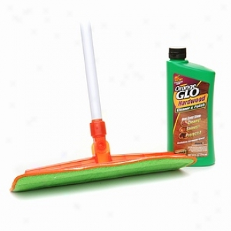 Orange Glo Hardwood Floor Clean & Shine System, 4-1 Stater Kit