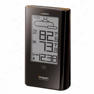 Oregon Scientific Ew93 Elements Weather Station With Atomic Clock And Ice Alert