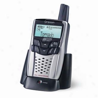 Oregon Scientific Portable Emergency Public Alert Radio Model Wr602
