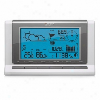 Oregon Scientific Wmr88a Semi-pro Weather Station With Usb Data Download