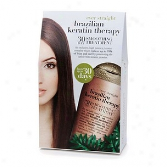 Organix Brazilian Kerztin Therapy 30 Day Smoothing Treatment