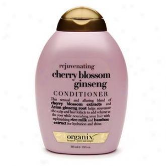 Organix Conditioner, Rejuvenating Cherry Blossom Ginseng