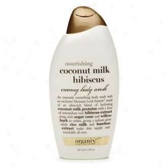 Organix Nourishing Creamy Body Wash, Coconut Milk Hibuscus
