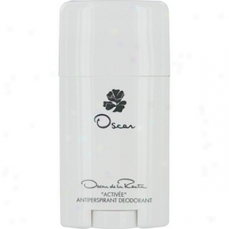 Oscar By Oscar De La Renta Deodorant Antitranspirant Stick 2.5 Oz For Women