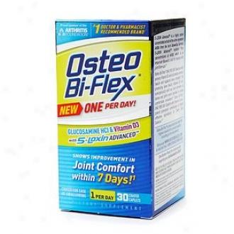 Osteo Bi-flex One Per Day Glucosamine Hcl Plus Vitamin D3,  Coated Caplets