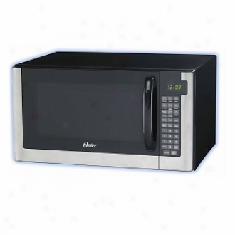 Oster Ogg61403 1.4 Cubic-foot Digital Microwave Oven, Stainless Steel