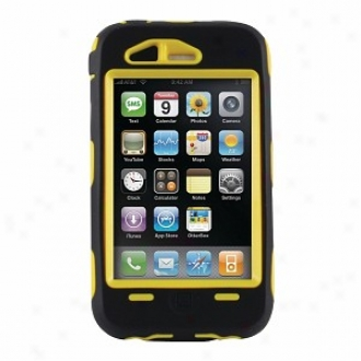Otterbox 1942-05.5 Iphone 3g/3gs Defender Case, Black And Yellow