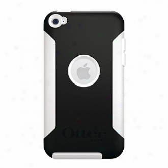 Otterbox Apl4-t4gxx-28-e4otr Ipod Touch 4g Commuter Case, Black And White