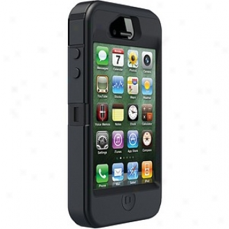 Otterbox Iphone 4s Defender Series Case, Negro And Max 4 Camo