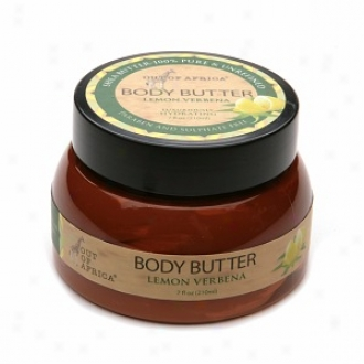 Out Of Africa Luxuriously Hydrating Body Butter Lemon Verbena