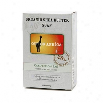 Out Of Africa Organic Shea Butter Body of lawyers Soap, Complexion Bar With Milk Proteins