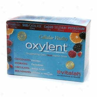 Oxylent Oxygenating Multivitamin Drink, Packets, Diversity Burden