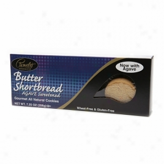 Pamela's Products Wheat-free & Gluten-free, Gourmet All Natural Cookies, Butter Shortbread