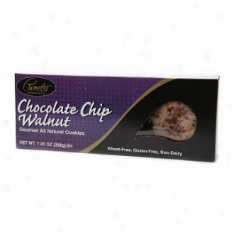 Pamela's Products Wheat-free &anp; Gluten-free, Gourmet All Natural Cookies, Chocolate Chi Walnut