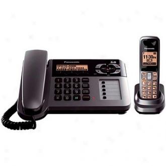 Panasonic Kx-tg1061m Dect 6.0 Corded/cordless Phone Caller Id Digital Answering System