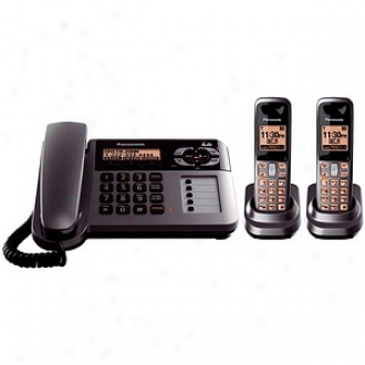 Panasonic Kx-tg1062m Dect 6.0 Corded/cordless Phoen Caller Id Digital Answering System