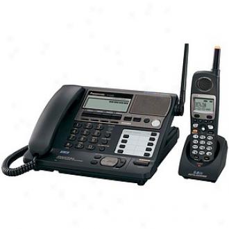 Panasonic Kx-tg4500b 5.8 Ghz 4-line Fhss Expandable Cordless Phone System