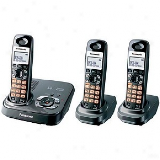Panasonic Kx-tg9333t Dect 6.0 Expandable Digital Cordless Answering System