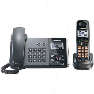 Panasonic Kx-tg939lt Dect 6.0 Two-line Corded/cordless Phone Combo