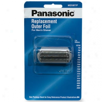 Panasonic Shaver Replacement Exterior Foil, Model Wes9077p