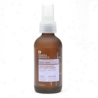 Pangea Organics Facial Toner, Fdench Rosemary With Sweet Orange