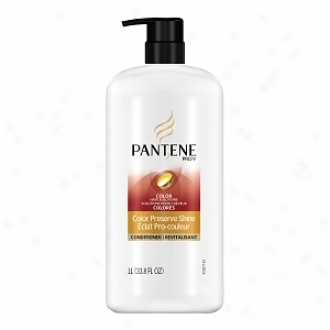 Pantene Pro-v Color Hair Solutions Color Preserve Shine Conditioner With Pup