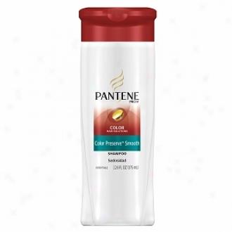 Pantene Pto-v Color Hair Solutions Color Preserve Smooth Shampoo