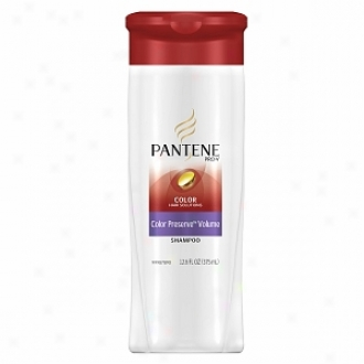 Pantene Pro-v Color Hair Solutions Color Preserve Volume Shampoo