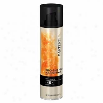 Pantene Pro-v Fine Hair Style Pro-shaping Aerosol Hairspray, Extra Strong Hold